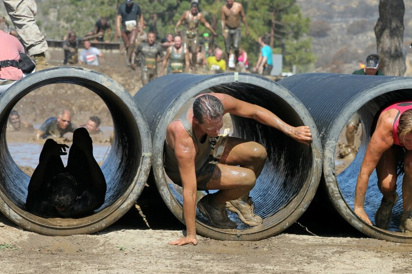 """Registration is open for Camp Pendleton's """"World famous Mud Run."""" CHARLIE NEUMAN"""