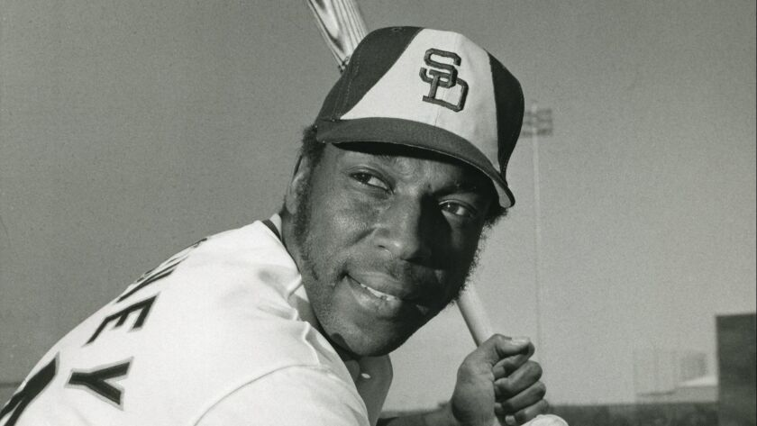 Willie McCovey of the San Diego Padres. Photo by Dan Jerry Rife/The San Diego Union-Tribune User Up