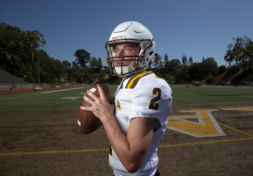 At 5-feet-8 1/2 and 153 pounds, Serra QB Tim Zebroski might surprise opponents who underestimate his game.