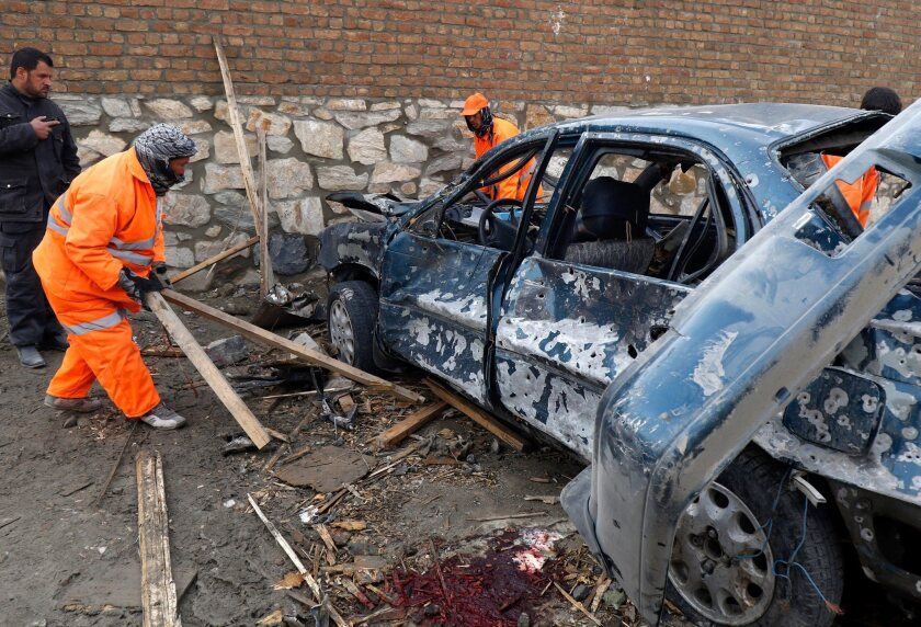 Suicide bombing in Kabul restaurant leaves three dead