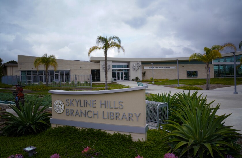 The new 15,000 sq. ft. library branch on Paradise Valley Road