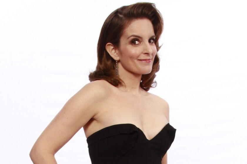 "Tina Fey hosts the telethon ""Rise Up New York!"""