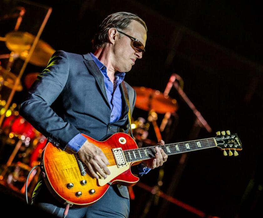 """""""My life isn't defined by guitar or how many records I've put out,"""" says Joe Bonamassa"""
