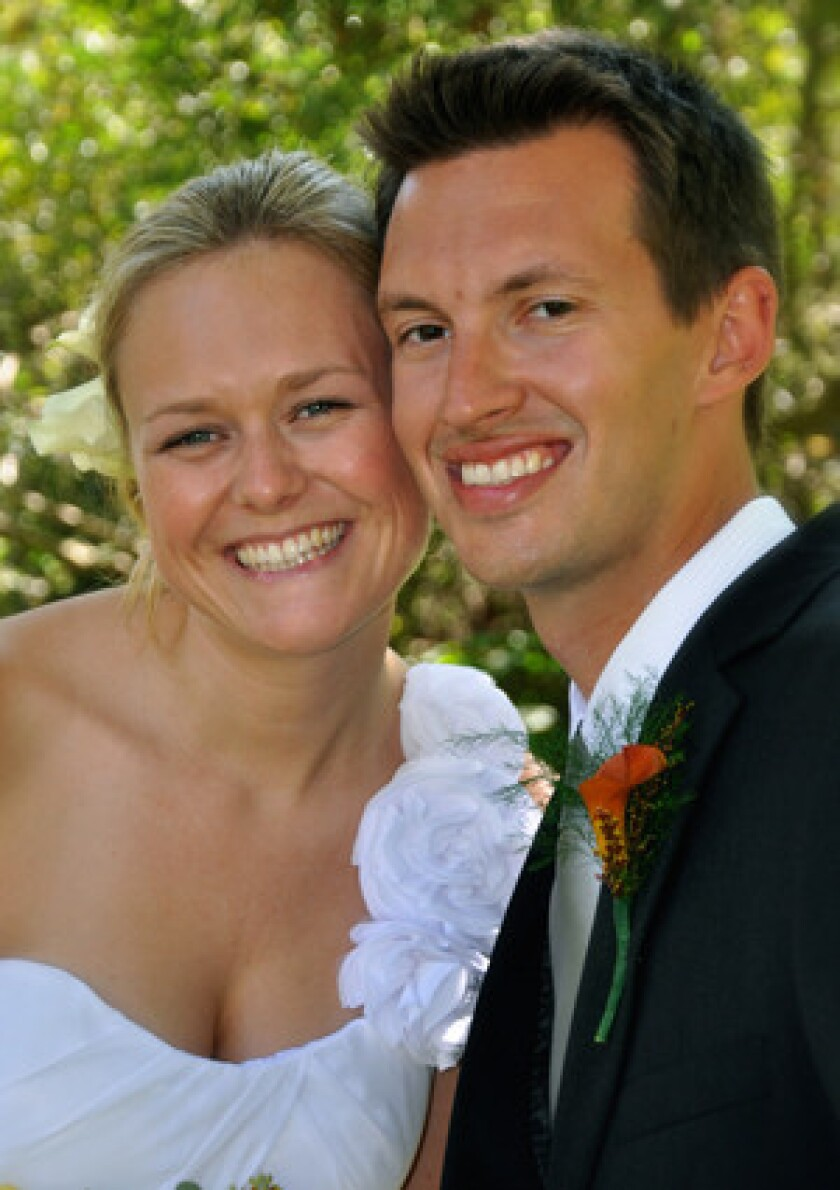 Stephanie Morris and Richard May