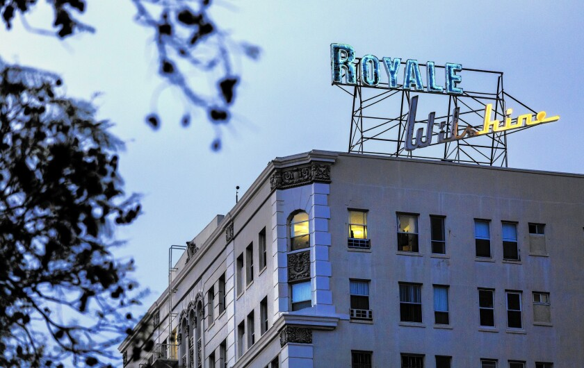 Wilshire Royale is sold; renovations planned