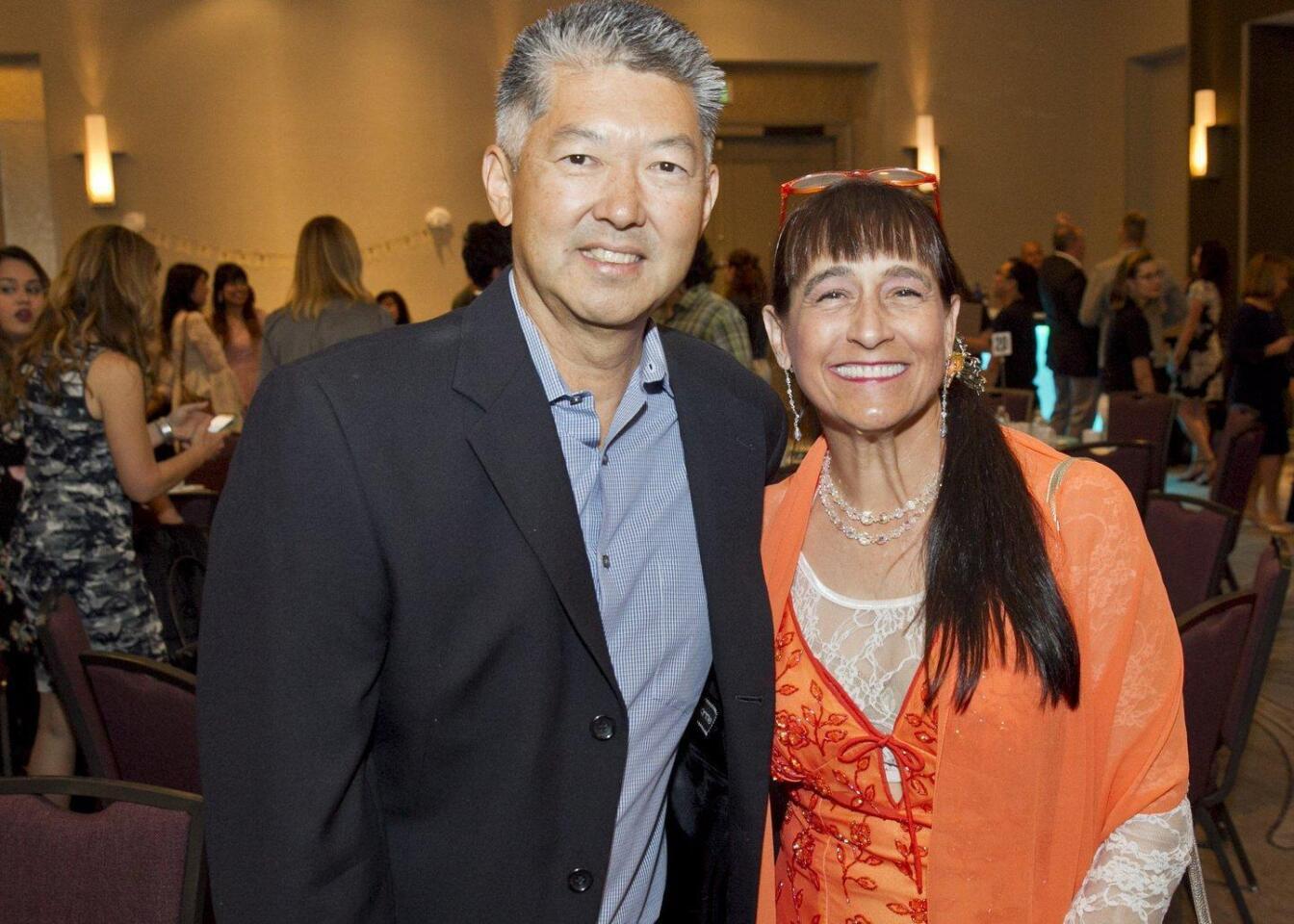 Gary and Lisa Inouye