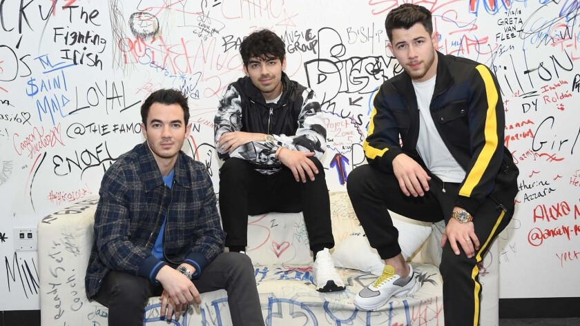 BESTPIX: The Jonas Brothers Visit Music Choice