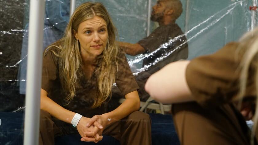 "Tracy Spiridakos in ""Chicago Med"" on NBC."