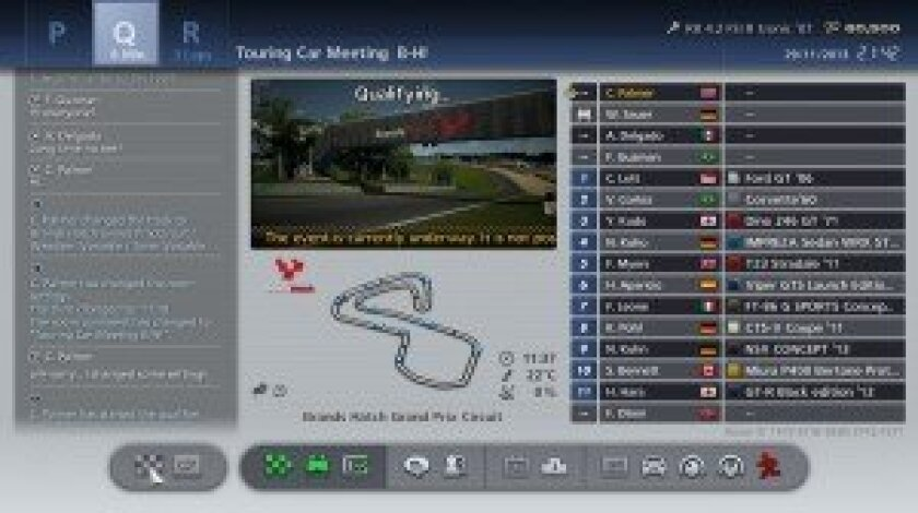 GT6 information screen – ©2013 Sony Computer Entertainment
