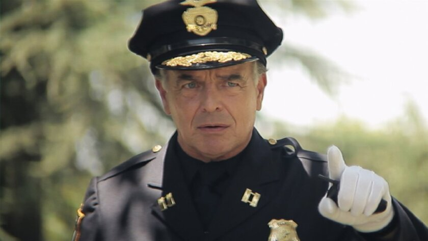 "Ray Wise in the film ""Wrong Cops."""