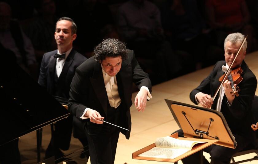 Gustavo Dudamel, pianist Inon Barnatan and the L.A. Phil perform Mozart's Piano Concerto No. 17.