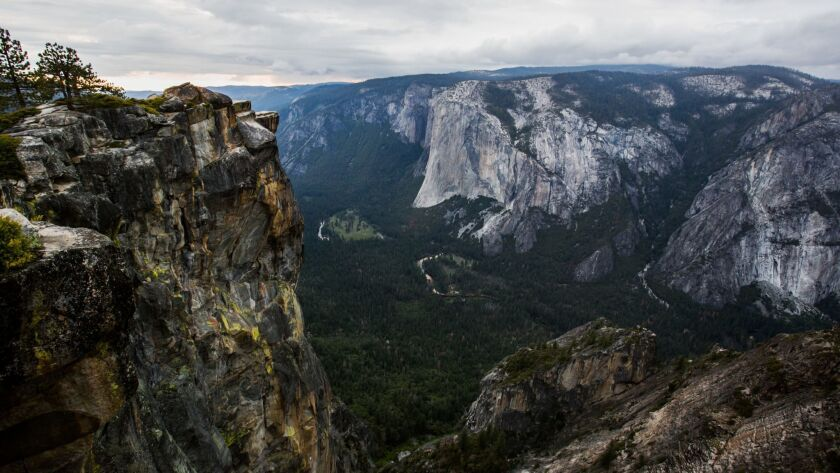 Taft Point in Yosemite National Park is the place where a married couple from India fell to their deaths last week. The two lived in the United States and ran a travel blog that chronicled their adventures around the world.