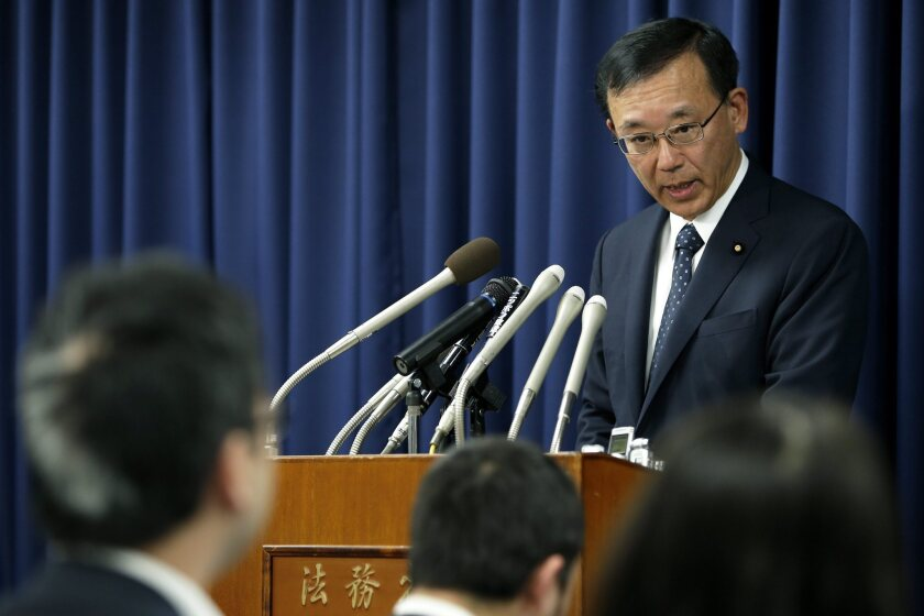 Japan hangs three prisoners, first executed under new government