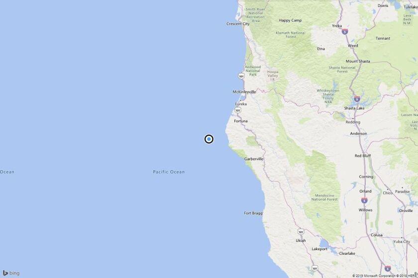 Earthquake: 3.1 quake strikes near Capetown, Calif.