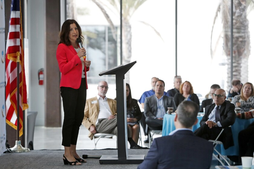 Officials address state of O.C.'s economy, homelessness and climate future at H.B. gathering
