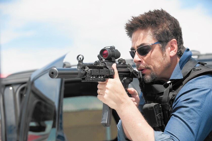 Review: Tension crackles across the many borders of 'Sicario'
