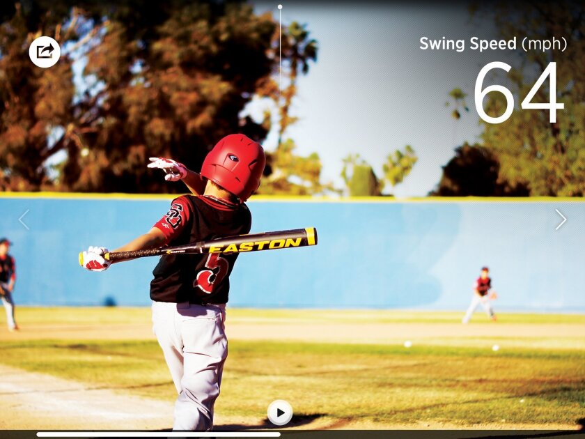 Blast Motion of Carlsbad makes sensors and apps to measure performance in five sports
