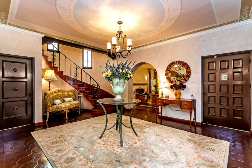 The 1929 period charm has been preserved at our Spanish Revival Home of the Week in Hancock Park.