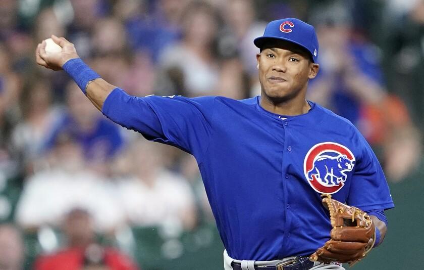 Cubs Russell Baseball
