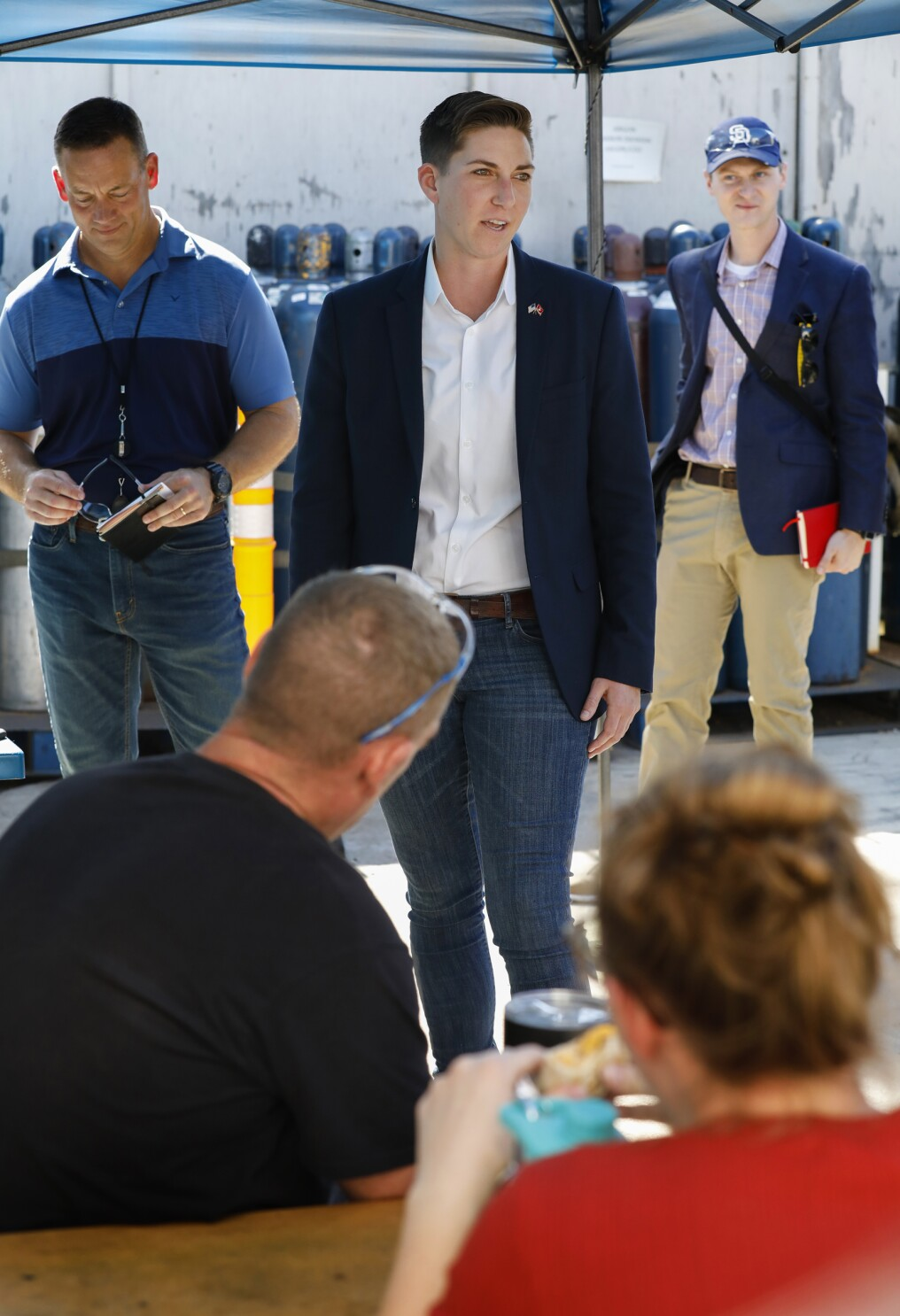 Goldbeck lands endorsement from Congressman and fellow Marine veteran Seth Moulton