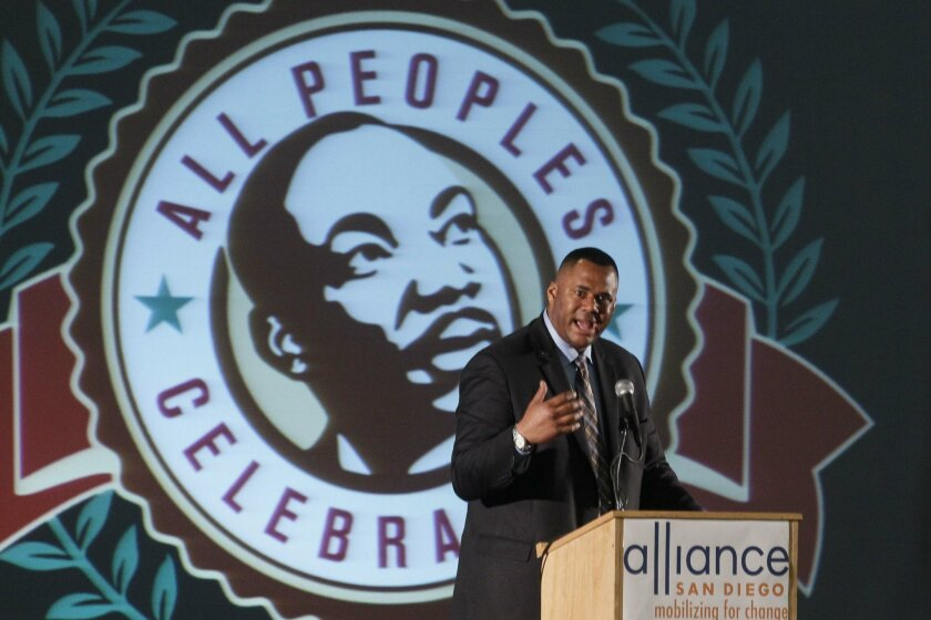 The 27th All Peoples Celebration was held Monday at the Activity Center in Balboa Park.  Ryan Haygood, the Deputy Director of Litigation at the NAACP Legal Defense and Educational Fund Inc, was the keynote speaker.