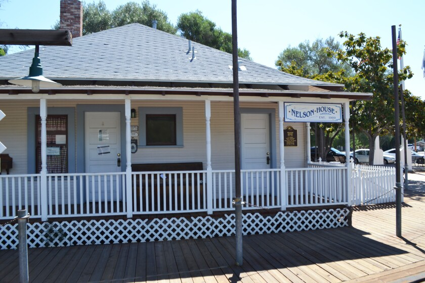 The Poway Historical and Memorial Society maintains the Nelson House as a museum in Old Poway Park.