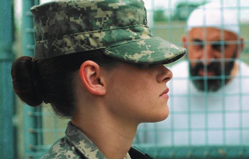 """Kristen Stewart in """"Camp X-Ray."""""""