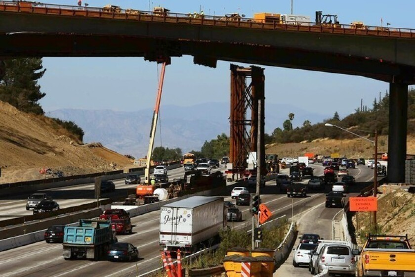 Letters: Freeway noise -- get used to it