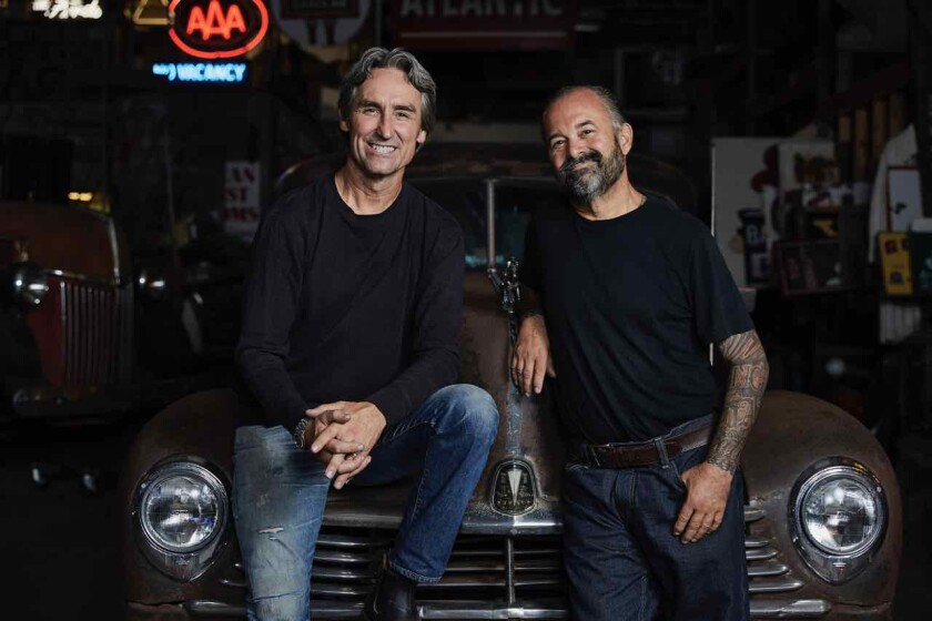 American Pickers Mike Wolfe and Frank Fritz