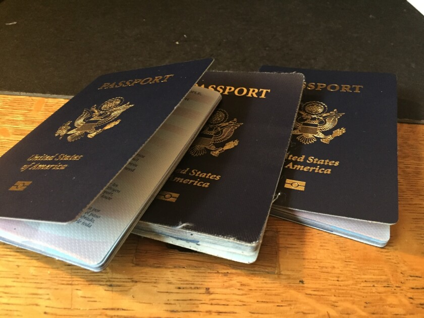 As the U.S. State Department copes with the COVID-19 pandemic, a large passport processing backlog has built up.