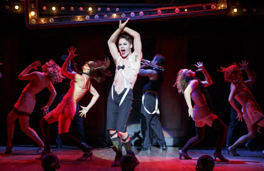 """Randy Harrison stars as the Emcee on the 2016 national tour of Roundabout Theatre Company's """"Cabaret."""""""