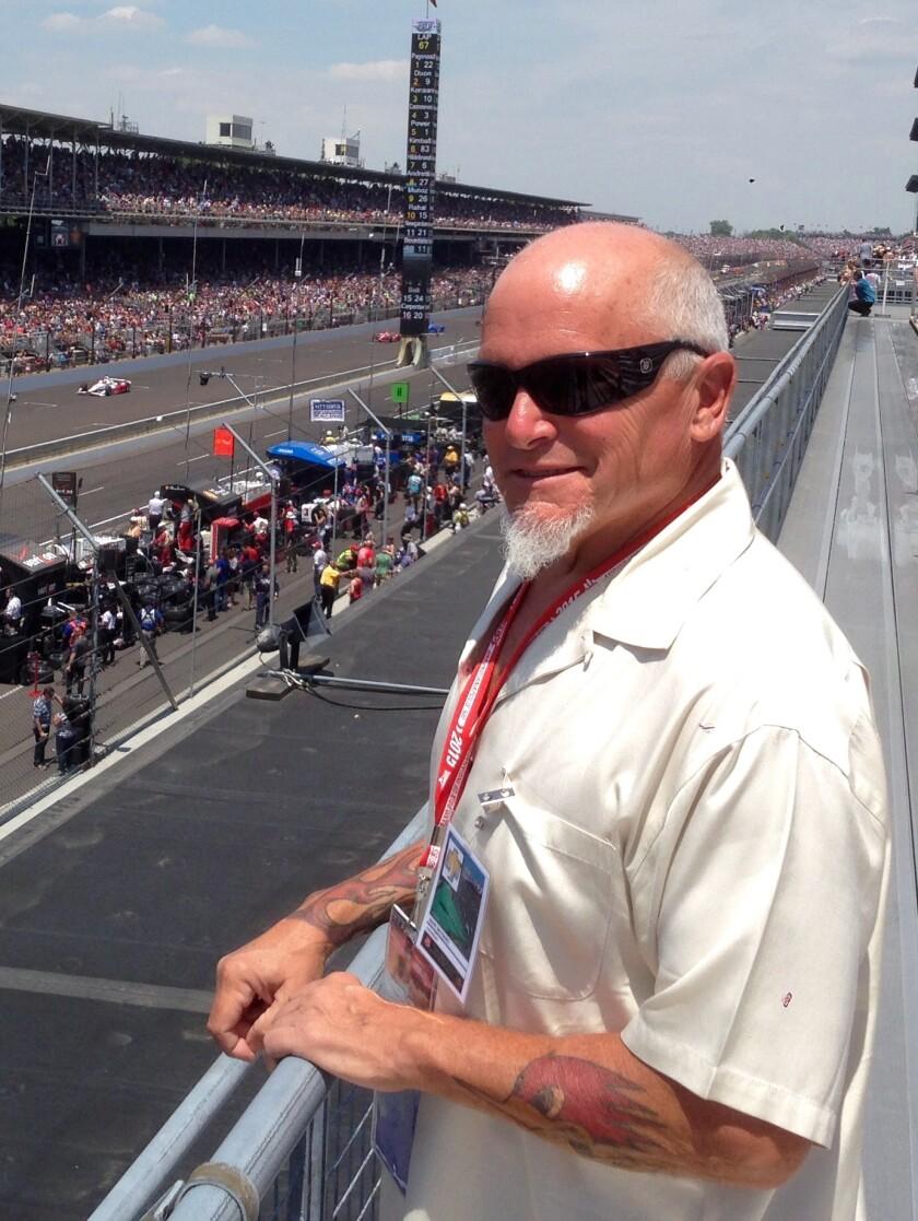 Recently semi-retired Union-Tribune auto editor Mark Maynard.