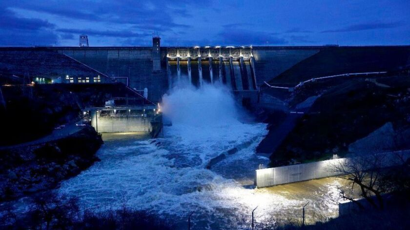 Money intended to pay for raising the height of Folsom Dam on the American River in Northern California might be tapped for President Trump's border wall, according to members of Congress.