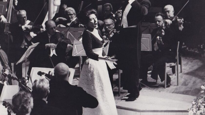 "A photograph of Maria Callas in a scene from the movie ""Maria by Callas."""