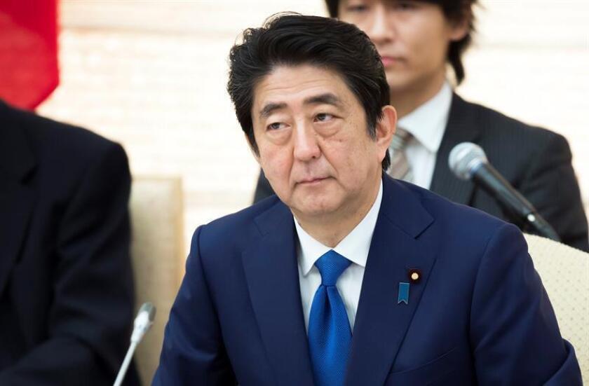 El primer ministro nipón, Shinzo Abe. EFE/Archivo