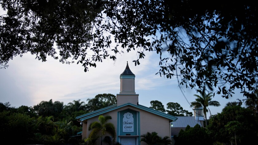 A view of the Islamic Center of Fort Pierce in Fort Pierce, Fla.