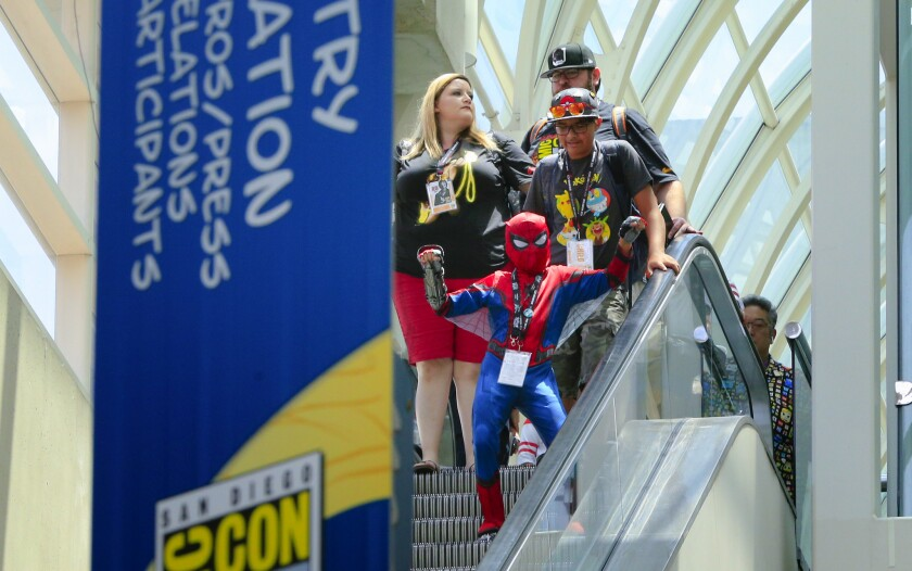 Family Day at Comic-Con