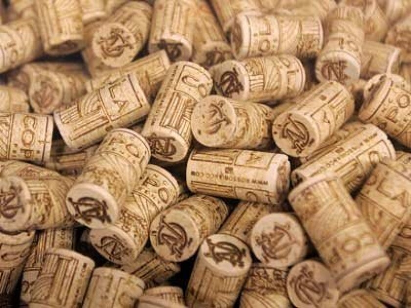 1c17greenM   You're the type who conscientiously recycles all your wine and champagne  bottles. But what are you supposed to do with the corks