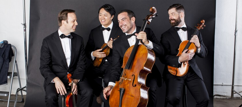 "At a SummerFest concert Sunday, the Miró Quartet gave confident, convincing performances of Caroline Shaw's ""Entr'acte"" and Gabriell Smith's ""Carrot Revolution."""
