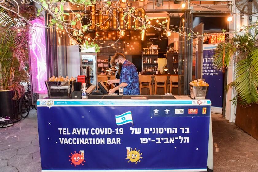 A Tel Aviv bar
