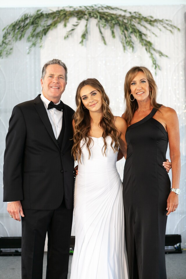 James, Natalie and Susan Cutri