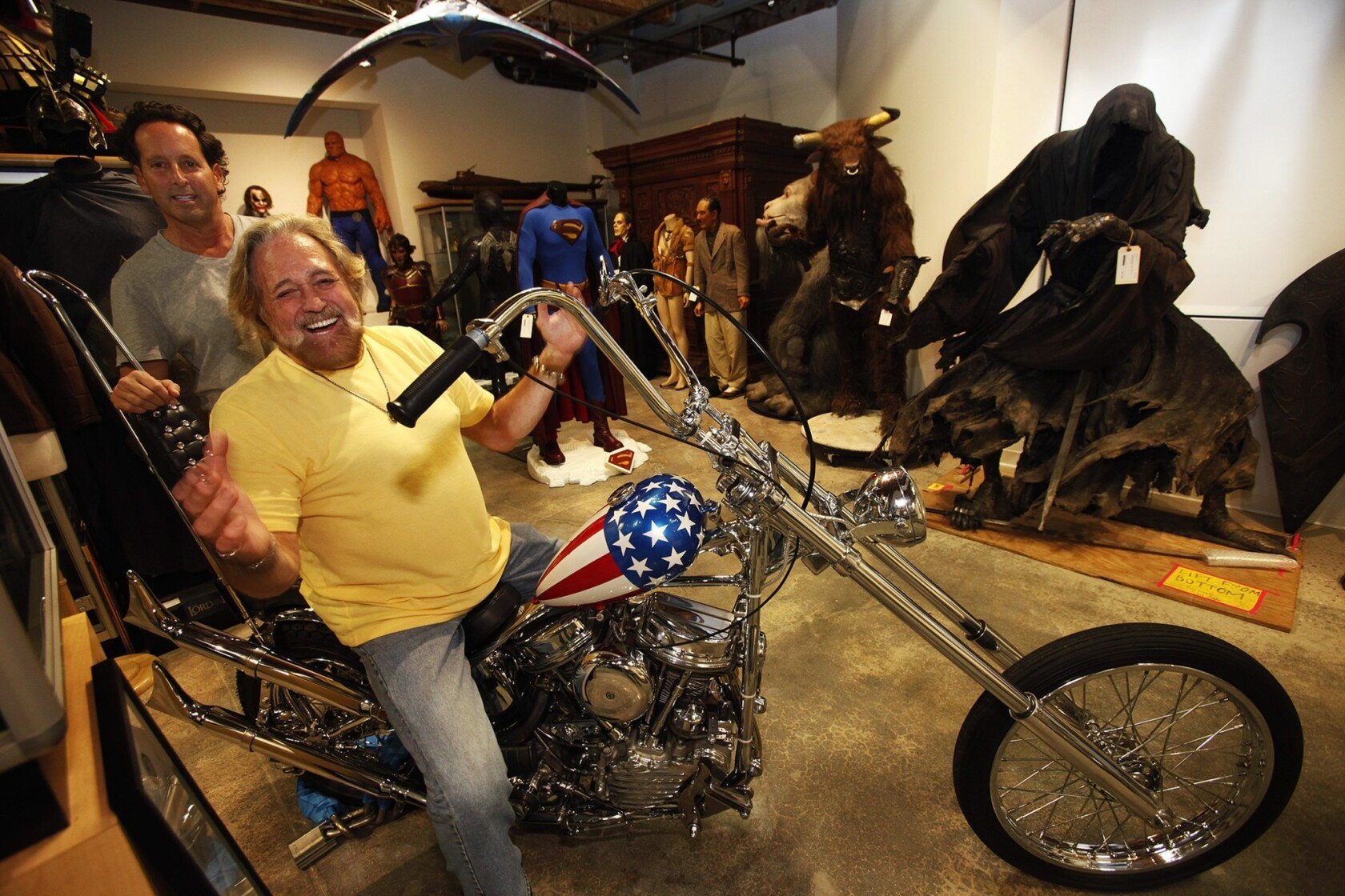 Image result for Dan Haggerty sells Captain America chopper