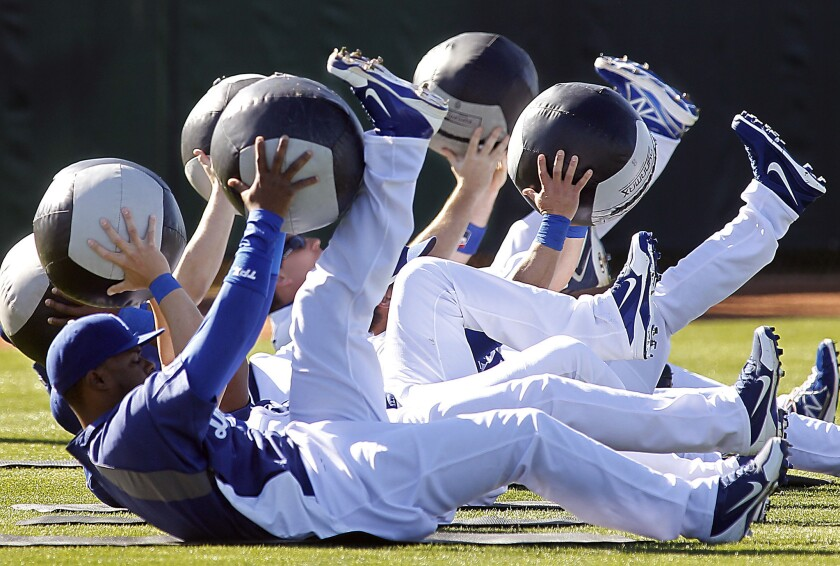 Dodger spring training in Glendale, Ariz., is among the sports trips available through Jay Buckley's Baseball Tours.