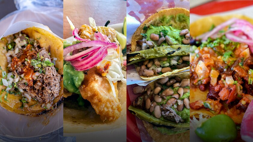 The new Three Amigos Taco Tours of Tijuana visits eight of the city's top taquerias, where visitors can try tacos of cabeza, fish, carne asada and al pastor.