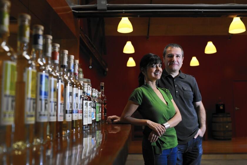 Greenbar Craft Distillery founders