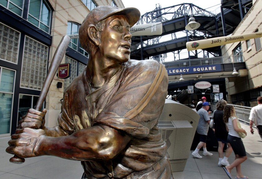 A bronze statue of Pittsburgh native Josh Gibson was unveiled at PNC Park in 2006.