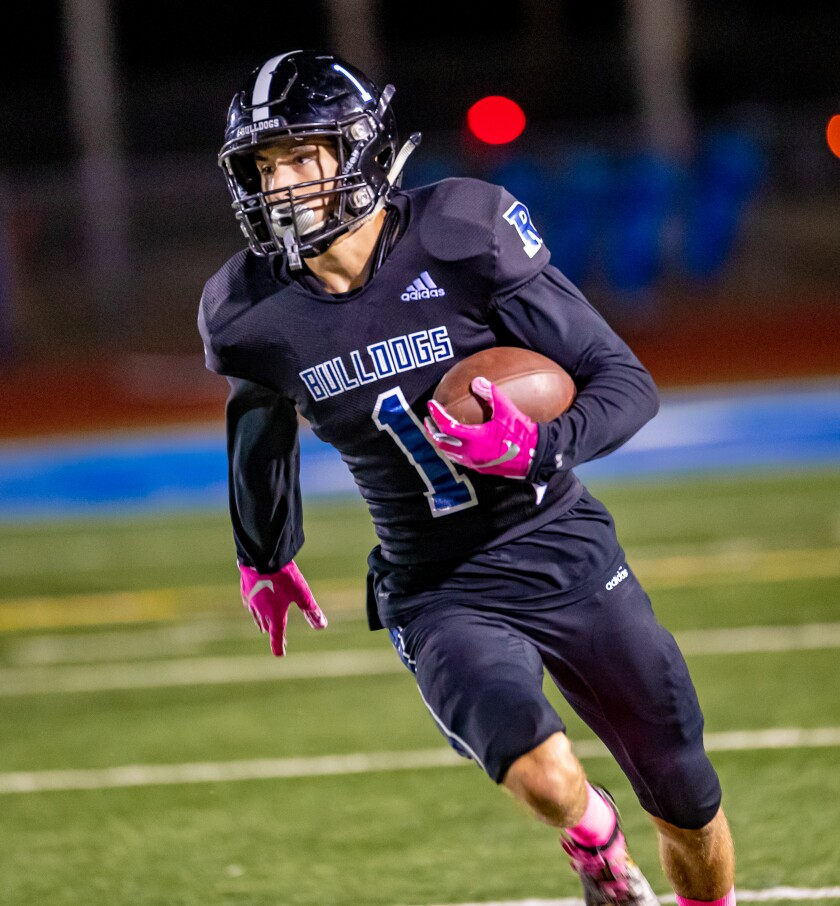 Ramona junior Cameron Dingman hopes to be playing at home in a three-way scrimmage against El Camino and Cathedral Catholic.