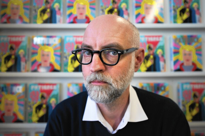 Daniel Clowes is looking for a role model in comics (sort of)