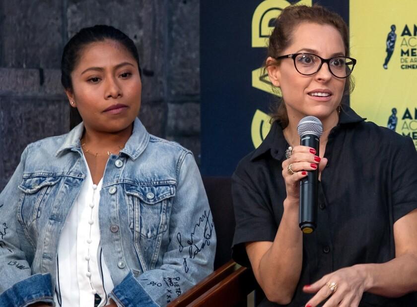 Yalitza y Marina en Discovery.