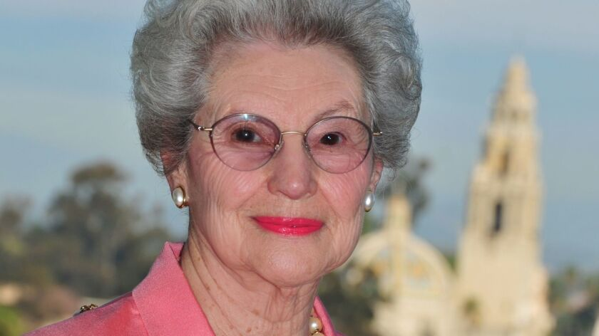 Betty Peabody is a tireless advocate for Balboa Park.